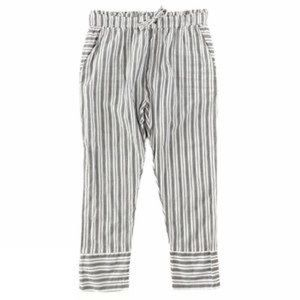 SCOTCH & SODA | NWT Striped Linen Drawstring Pant